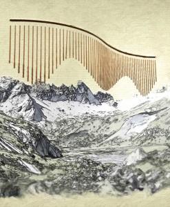 Skizze Berg