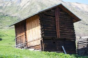 Stallscheune in Vrin