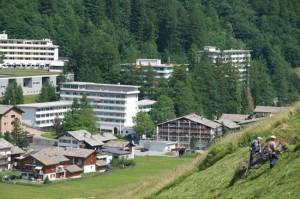 Therme und Hotel in Vals