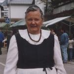 Helena Derungs-Jörger ca. 1975