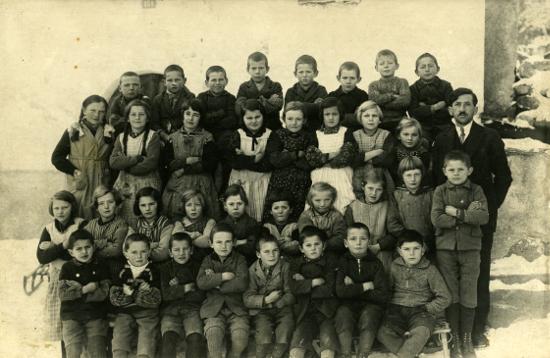 Schule im Val Sumvitg