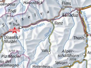 Karte Sumvitg